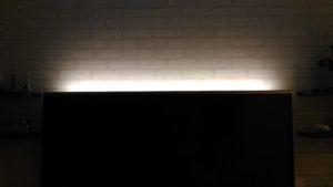 TV間接照明