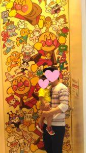 アンパンマンの大壁画