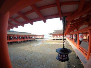 厳島神社 廊下3