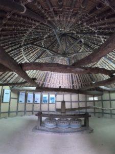 椿蒸し小屋