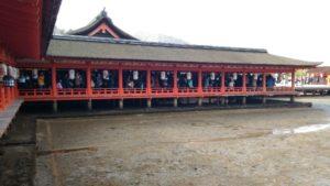 厳島神社 廊下2