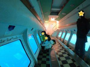 ガイヤナ 船室